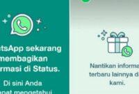 Pemberitahuan WhatsApp