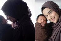 Pemotretan Hanya Berdua dengan Bayinya