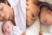 Tips Aman Tidur dengan Bayi Baru Lahir