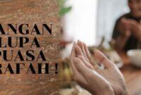 Manfaat Puasa Arafah